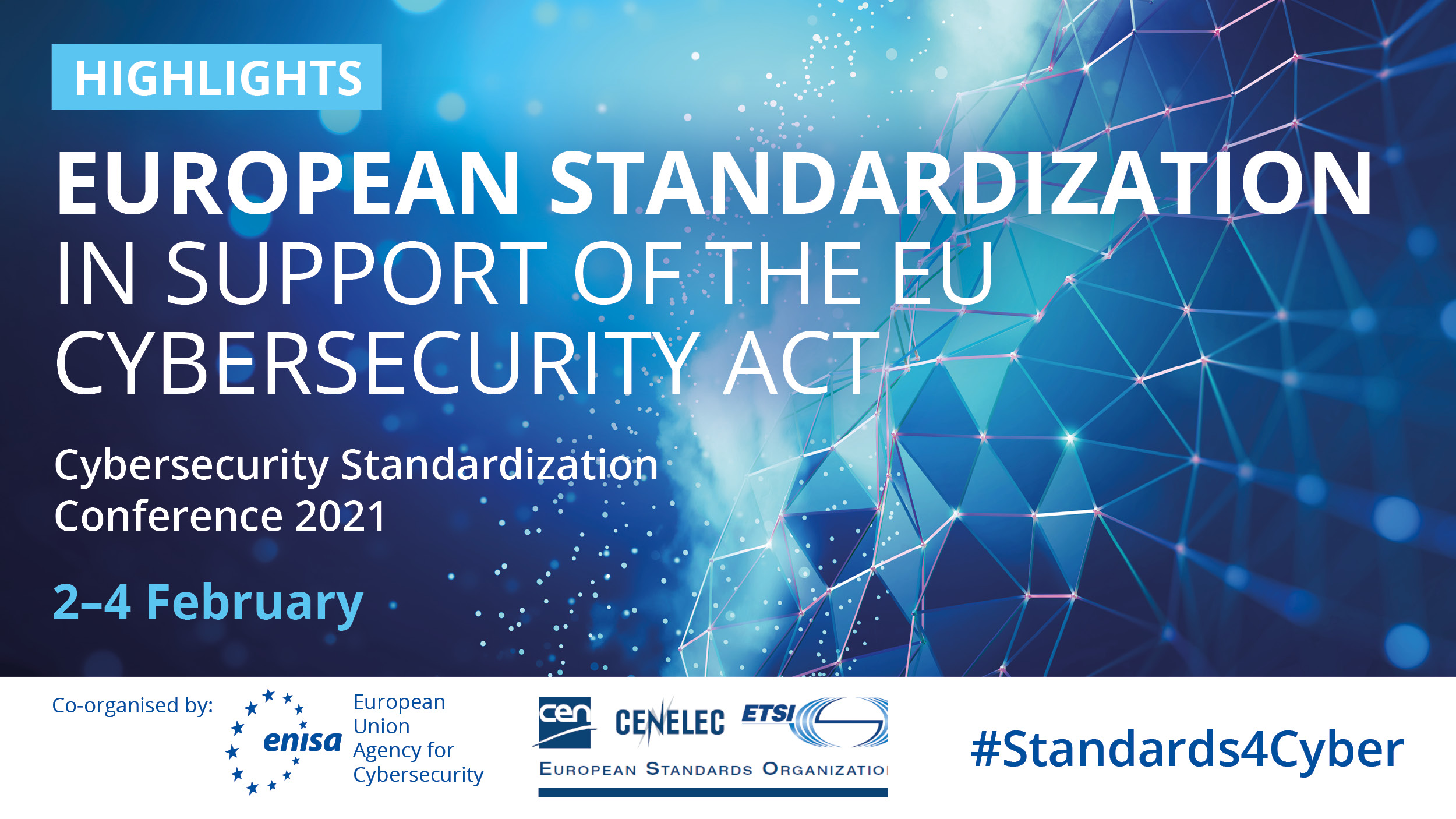 CYRENE attended ENISA Cybersecurity Standardization Conference