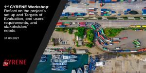 First CYRENE workshop Presentation slides