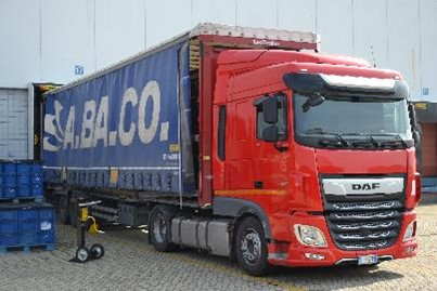 Inbound Logistics - DAF vehicle