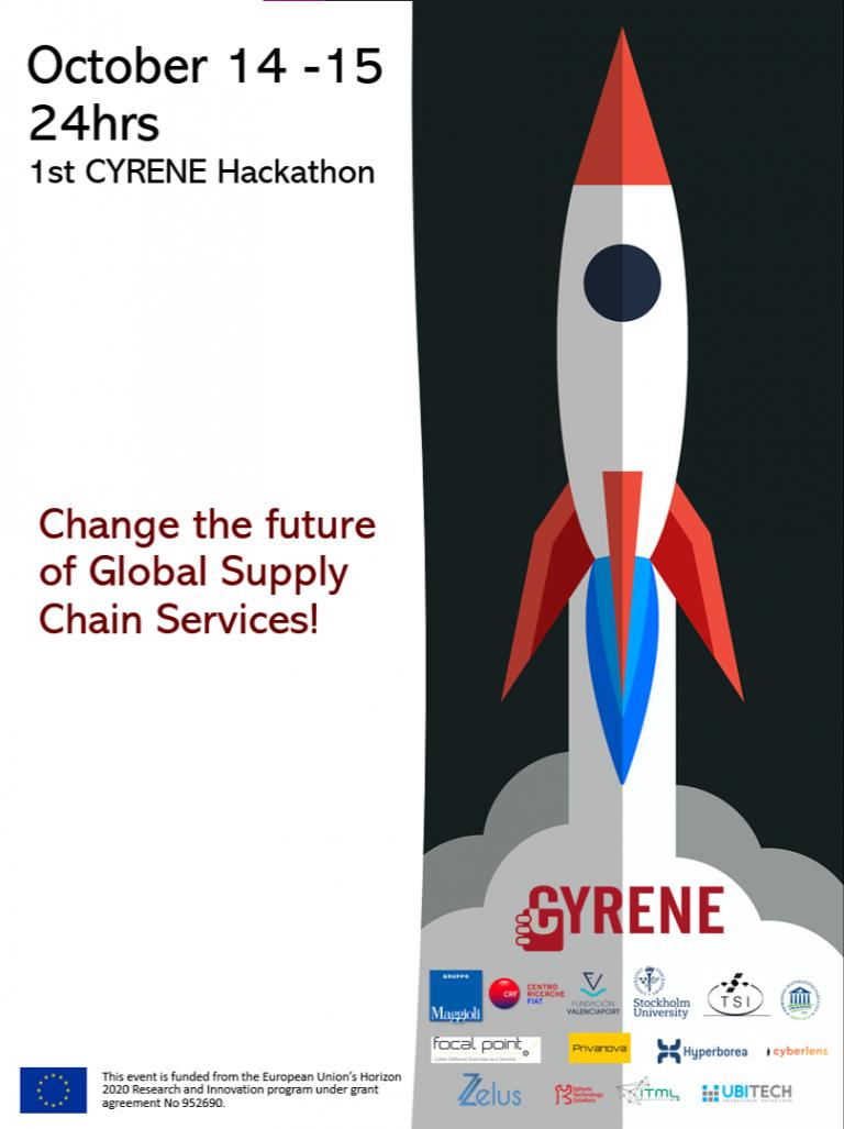 CYRENE Hackathon flyer